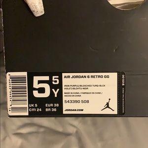 Air Jordan Retro 6 GS/Youth/Junior